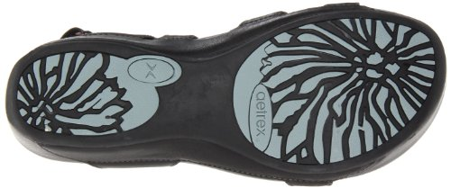 Aetrex Aetrex Paraiso Womens Size 11 Black Leather Dress Sandals Shoes UK 9