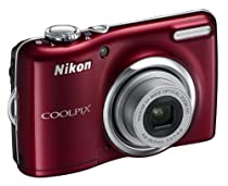 Nikon Coolpix L23 Red Digital Compact Camera