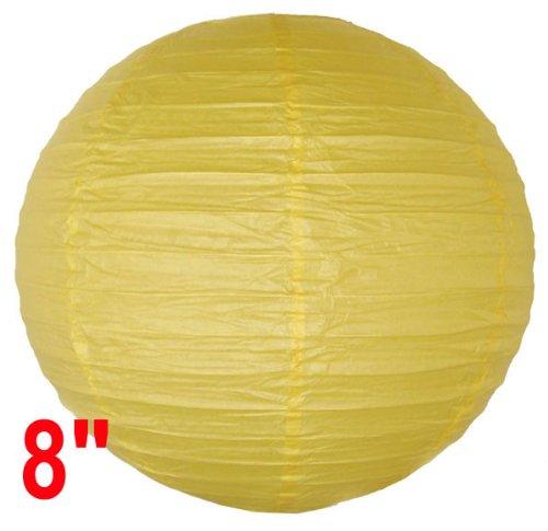 Yellow Chinese/Japanese Paper Lantern/Lamp 8