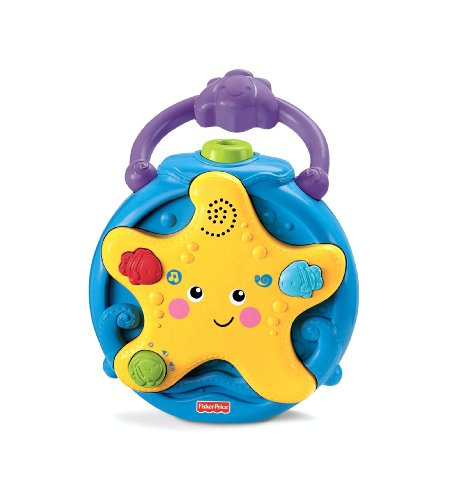 Fisher-Price Ocean Wonders Take-A lo largo de proyector Chupete