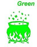 窯4 緑 カッティングステッカー ウォールステッカー ステッカー シール カッティングシール