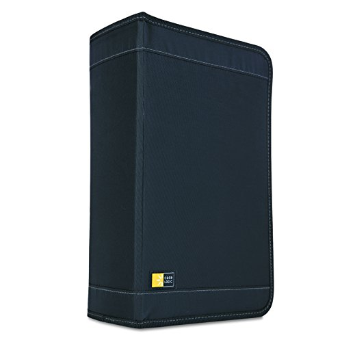 case-logic-cdw-128t-etui-cd-nylon-noir