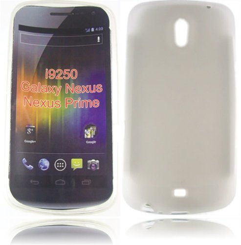 Gel Decken Fall Haut F&#252;r Samsung Galaxy Nexus i9250 / Clear