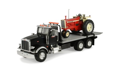 Ertl Big Farm 1:16 Peterbilt Model 367 Delivery Truck With Roll Off And Ih 1206 Nf front-821703