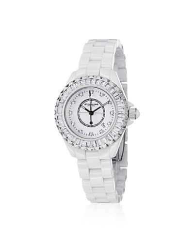 Stuhrling Original Women's 530S2.1113EP3 Leisure White Ceramic Watch
