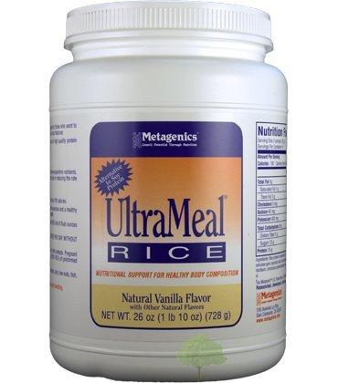 Metagenics, UltraMeal Rice, Natural Vanilla Flavor, 26 oz (728 g)