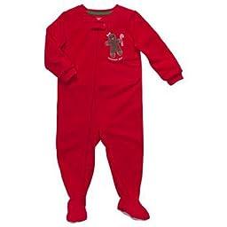Oshkosh Toddler Girls Microfleece Blanket Sleeper Gingerbread (24Mos)
