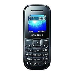 Samsung GT-E1200I Téléphone Portable 128 Mo Noir