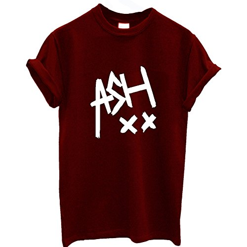 t-shirt-unisexe-cendre-5sos-dope-swag-5-seconds-of-summer-tour-tumblr-one-direction-rouge-small