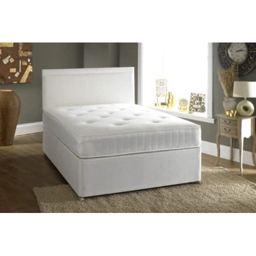 Small Double 4'0 Divan bed - 2 drawers and Ortho Mattress
