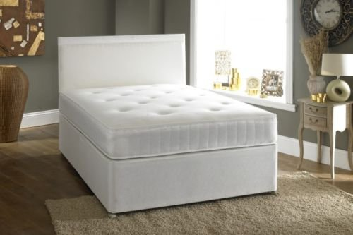 Double divan bed drawers for sale in uk view 103 ads for Double divan base and mattress