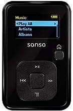Lecteur MP3 SanDisk Sansa Clip+ 4Go Noir (SDMX18-004G-E46K)