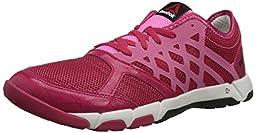 Reebok Women\'s One TR 2.0 Cross-Training Shoe,Magenta Pop/Electro Pink/Gravel/Chalk,6.5 M US