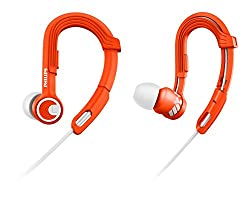 Philips SHQ3300OR/00 ActionFit Sports In-Ear Headphones (Orange)