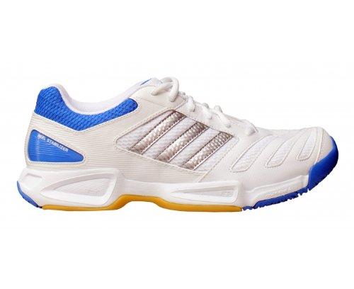 a3e87d51102 Adidas Badminton Feather Team Court Shoes 8 5 White - Hazel T ...