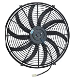 "PROCOMP 16"" INCH ELECTRIC COOLING AUTOMOTIVE RADIATOR FAN 12 VOLT (CURVED)"
