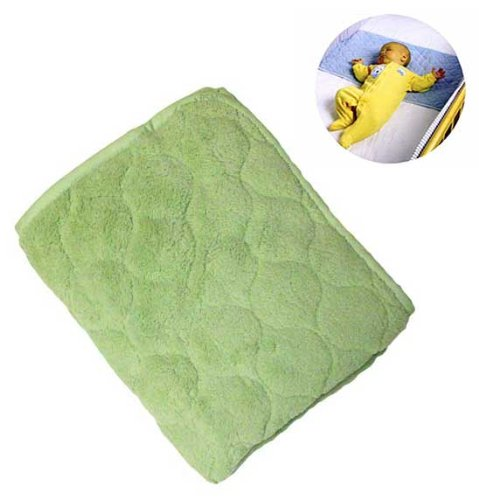 Nojo Coral Fleece Sheet Saver - Sage