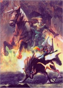 Nintendo Legend of Zelda Cloth Wall Scroll Poster YA-123