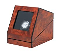 Siena One Programmable Watchwinder in Burl by Orbita
