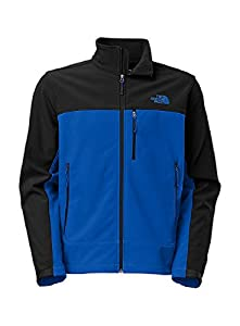 The North Face Mens Apex Bionic Jacket Monster Blue/TNF Black Outerwear 2XL from The North Face