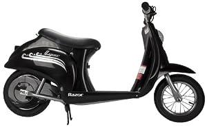 Razor Pocket Mod Vapor 24V Electric Retro Scooter - Black | 15130601 by Razor