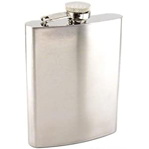 SE HQ8 Stainless Steel Hip Flask
