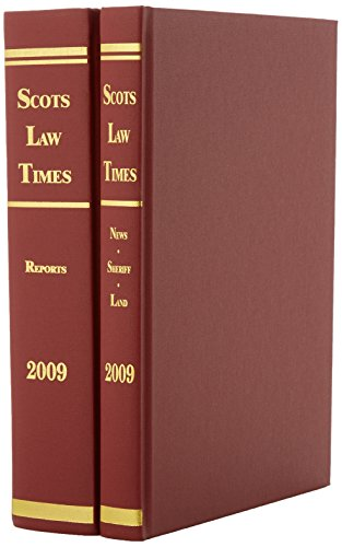 Scots Law Times 2009: v, 1-2