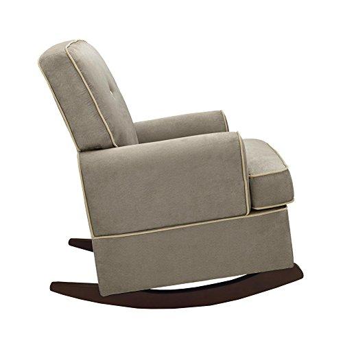 Dorel Asia The Tinsley Nursery Rocker Chair, Light Brown Furniture ...