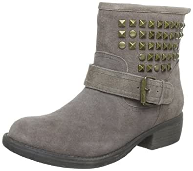 Steve Madden Women's OUTTLAWW Boots Gray Grau (Taupe 14) Size: 36