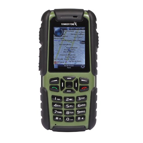 Rangerfone G20 GPS Intercom Military Mobile Phone UHF Two-way Radio IP67 Waterproof
