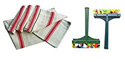 Floor Cloth and Kitchen Wiper Combo - By XYZ Textiles