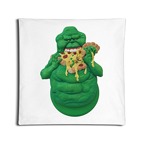 [LBGN Decorative Slimer Happy Throw Pillow Shells One Side 45*45 CMS Square] (Cute Slimer Costumes)
