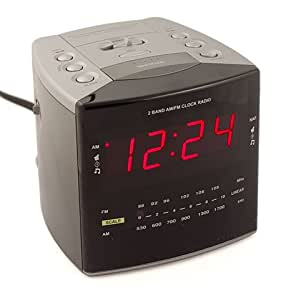 kjb c1230hc hardwired clock radio hidden camera sports out. Black Bedroom Furniture Sets. Home Design Ideas