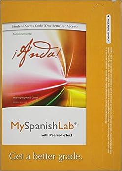 my spanish lab pearson pegasus