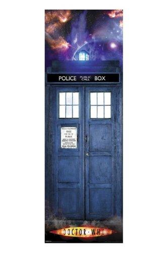 DOCTOR WHO – TARDIS – DOOR POSTER – 53CM X 158CM – BRAND NEW