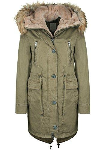 Oakwood -  Giacca  - Piumino  - Basic - Maniche lunghe  - Donna cachi XL