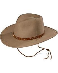 Stetson Men\'s Santa Fe Crushable Wool Hat Mushroom X-Large