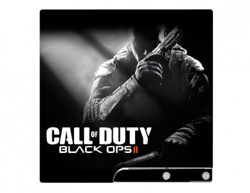 Call of Duty: Black Ops II 2 PS3 Slim Limited Edition Game Skin for Sony Playstation 3 Slim Console (Ps3 Call Of Duty Ii compare prices)