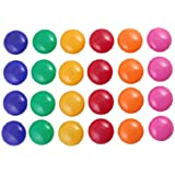 Round Presentation Whiteboard Magnetic Button 24 Pcs