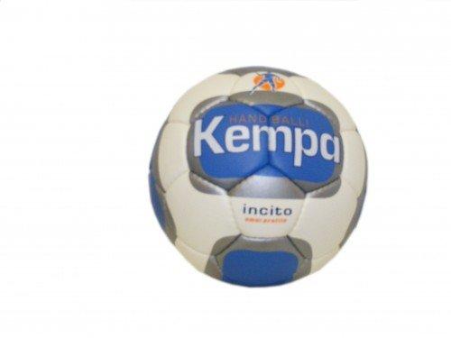 Kempa Handball Incito weiß-blau-silber, Größe:3