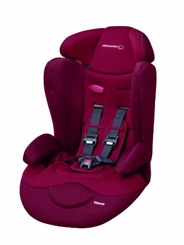 Bébé Confort Seggiolino auto Trianos Gruppo 1/2/3 (9-36kg), Raspberry Red
