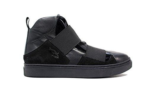 Braccialini Sneakers Bassa Donna B318 Nero Nero nuova collezione autunno inverno 2016 2021