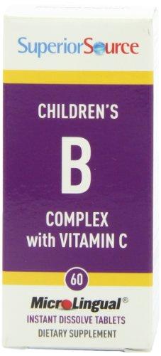 Superior Source Children'S B-Complex Vitamins, 60 Count