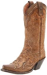 Harley-Davidson Women\'s Jessa Work Boot,Brown,5.5 M US