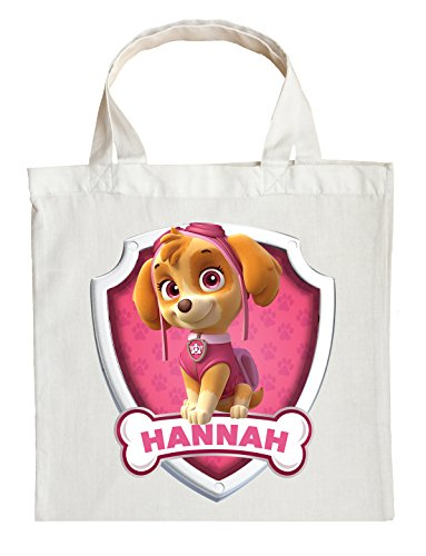 Skye Trick or Treat Bags - Personalized Paw Patrol Halloween Bag (Skye)