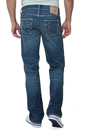 True Religion Straight Leg Jeans BOBBY GENERAL LEE, Color: Blue, Size: 42