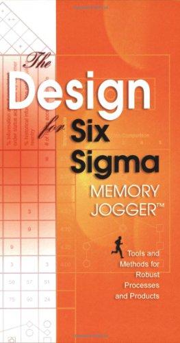 Design for Six SIGMA Memory Jogger
