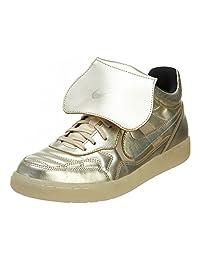 Nike Mens Sportswear (NSW) Tiempo '94 Mid Gold Hypervenom Sneakers