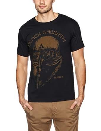 Black Sabbath US Tour 78 Avengers - T-shirt - Manches courtes - Homme, Noir, FR: Small (Taille fabricant: Small)