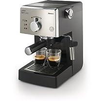 Saeco HD8325/47 Poemia Class Manual Espresso Machine Black